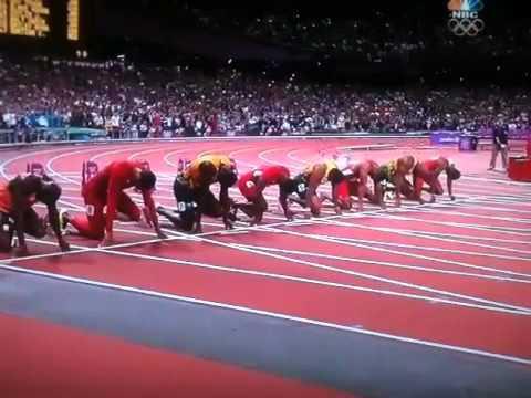 2012 London olympics 100meter dash
