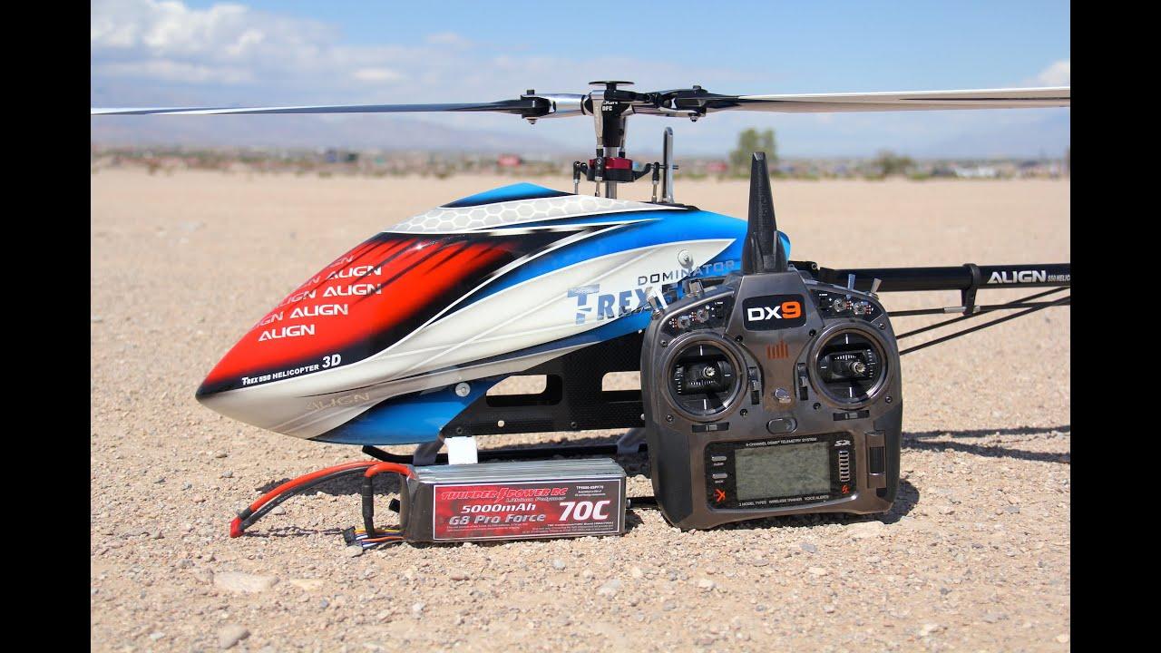 Align Dominator Trex 550L - RC Groups