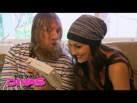 Brie Bella And Daniel Bryan Test Out A New Home Security System: Total Divas: March 1, 2015 video