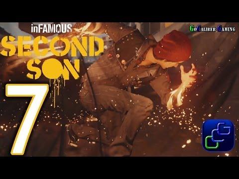 inFAMOUS: Second Son PS4 Walkthrough - Part 7 - Cole's Legacy Part 1