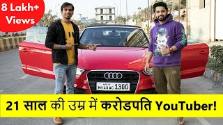 How He Became Millionaire in Age 21 | Super Motivational Interview Ft. Super Indian Vlogs