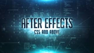 After effects template quantum