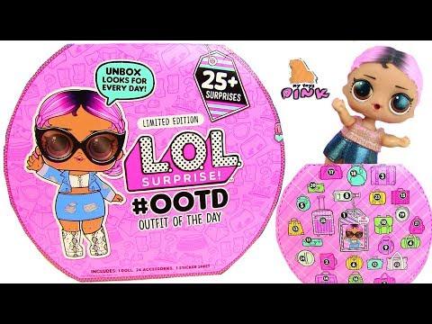 25 СЮРПРИЗОВ ДЛЯ КУКЛЫ ЛОЛ! LOL SURPRISE BABY DOLL ADVENT CALENDAR! #OOTD Одевалки Куклы ЛОЛ