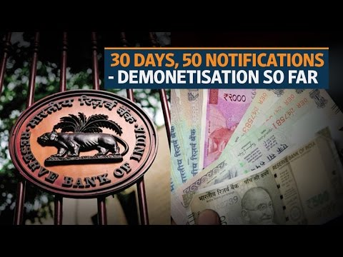 RBI gets its messages mixed with 50 notifications in 30 days