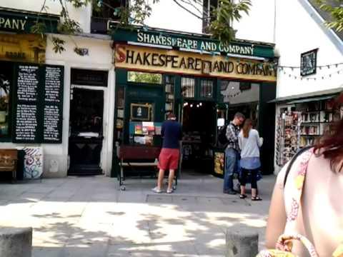 Oak tree music Paris Shakespeare book shop