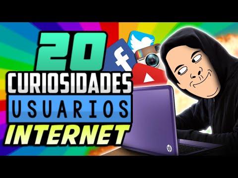 20 CURIOSIDADES SOBRE USUARIOS DE INTERNET
