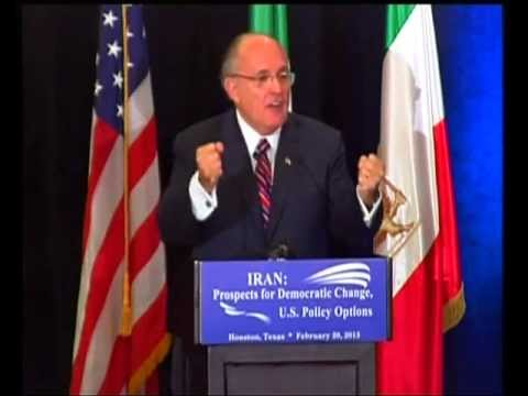 Rudy Giuliani on Camp Liberty Attack -- Houston, Texas -- February 20, 2013