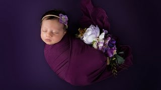 NEWBORN PHOTOGRAPHY creative photosession for a baby girl with Sacramento newborn photographer