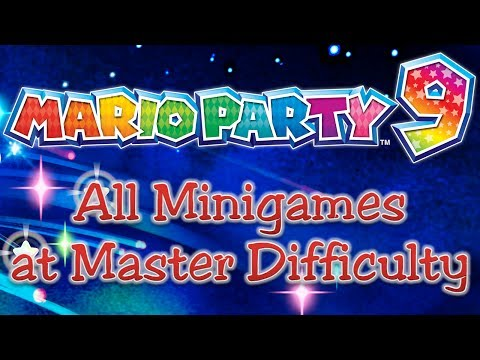 Mario Party 9 - Winning all Minigames at Master Difficulty