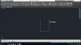 How to use Fillet in AutoCad