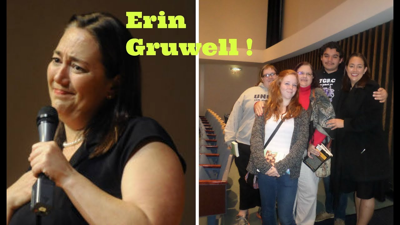 we met  u0026 saw erin gruwell speak    the original freedom