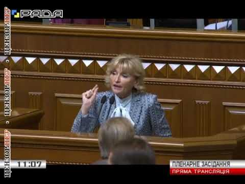 Перепалка Луценко и Кужель в ВР - из-за Тимошенко