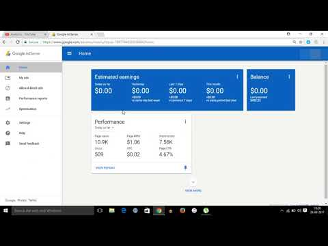 adsense earning  proof august 2017 || earn Rs 50000 per month live proof||