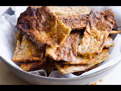 2 Ingredient Gluten Free Crackers Recipe