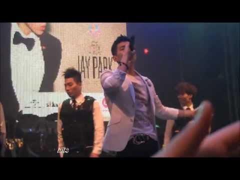 [HD FANCAM] 120429 Star (별) - Jay Park (박재범) (SG Showcase)