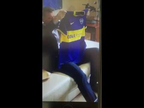 Juan Román Riquelme visitó el despacho de Mauricio Macri