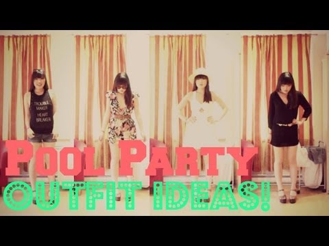 How to wear pool party outfit ideas youtube - How to make a pool party ...