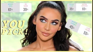 MY FOLLOWERS PICK MY MAKEUP LOOK!!