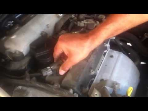 2006 Altima changing spark plugs.