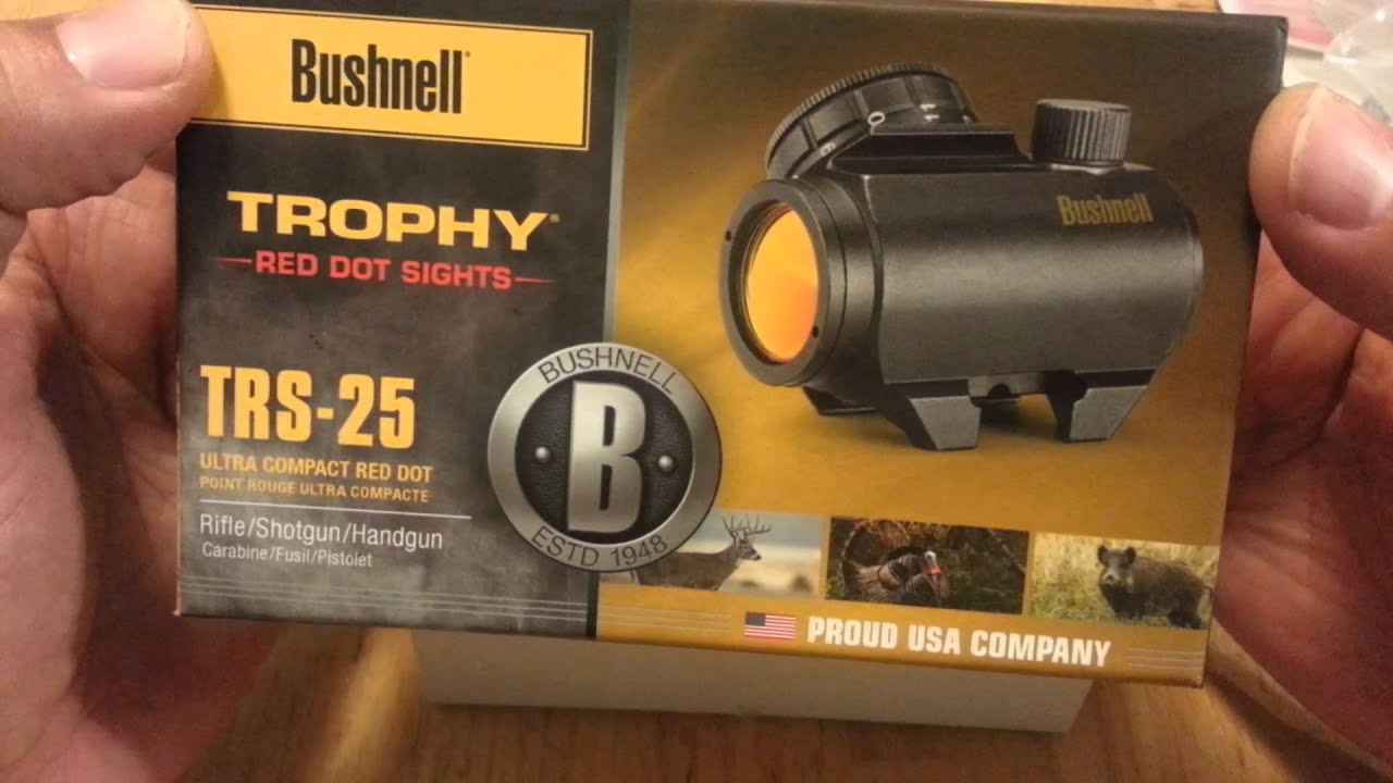 Bushnell Trs 25 And Utg Rs10s3