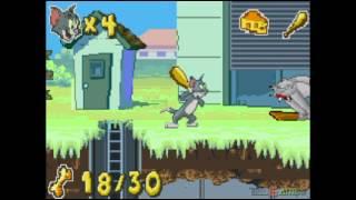 Tom & Jerry: Infurnal Escape - Gameplay GBA (Visual Boy Advance)