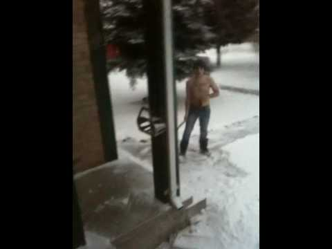 Crazy Canadian Shovels Topless