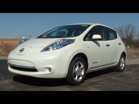 MVS - 2012 Nissan Leaf SL (Exclusive w/Full Test Drive)