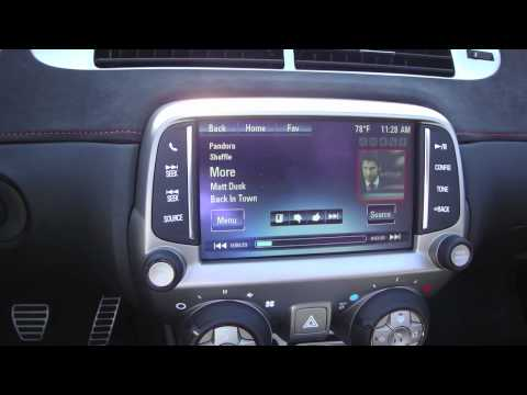 MyLink Demo in a 2013 Camaro ZL1 Convertible