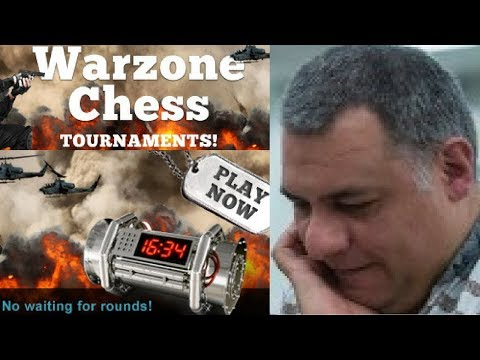 Blitz Chess : Chesscube Daily Warzone Final 27th August 2012