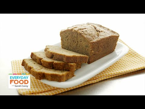 Spiced Zucchini Quick Bread Recipe - Everyday Food with Sarah Carey