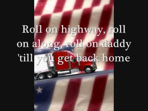 Eighteen Wheeler (Roll On), W/lyrics