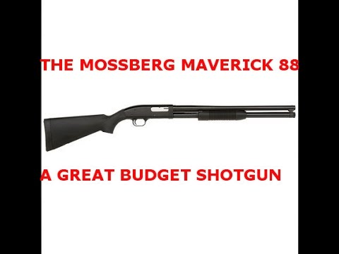 TACTICAL 12 GAUGE SHOTGUN. 8RD MOSSBERG MAVERICK 88 FOR ECONOMIC COLLAPSE
