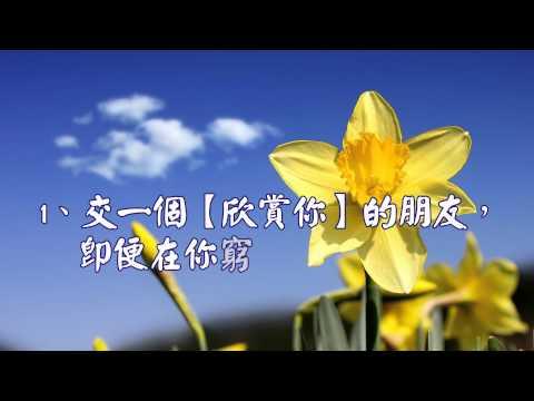 心靈舒果-財富不是永遠的朋友 朋友卻是永遠的財富 1