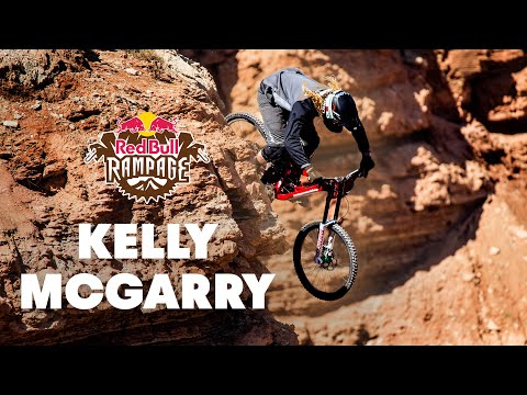 Kelly McGarry Finals Run GoPro Footage - Red Bull Rampage 2014