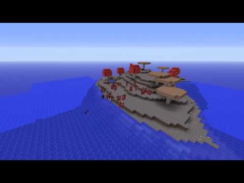 [Minecraft 1.7.5 Seeds] Mooshroom Survival Island Seed!