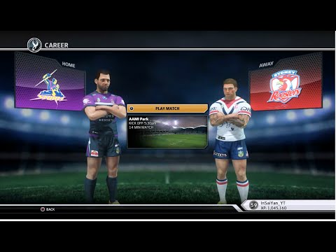 Rugby League Live 3 - Roosters Career (Round 7)