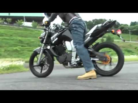 Yamaha  Byson FZ16 Black Monster STUNT RIDE