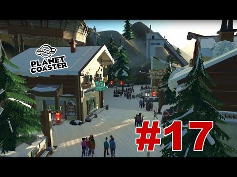 Planet Coaster: Winter Wonderland: Bobsled and Jumping Hill (SP #17)