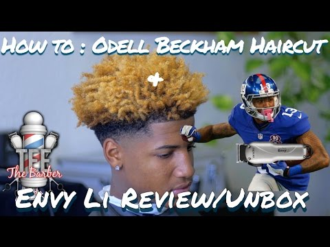 HOW TO CUT: ODELL BECKHAM JR's HAIR (cordless) W/ ANDIS ENVY Li & review 4K