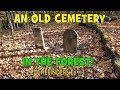 Metal Detecting An Old Cemetery In The Forest   Metal Detecting Canada   Minelab Safari