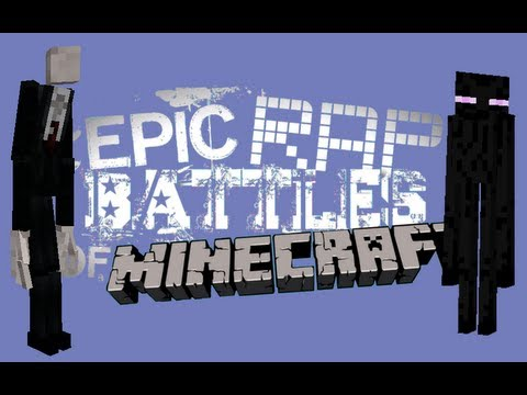 Epic Rap Battles of Minecraft - Slenderman vs Enderman - Epic Rap Battles of Minecraft #23