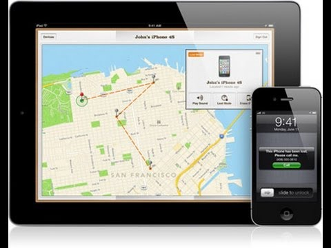 iOS 6: Find My iPhone Demo