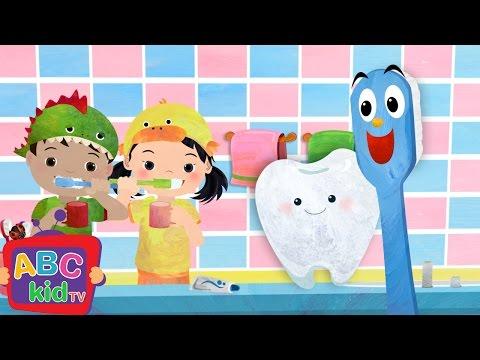 Brush Your Teeth | Nursery Rhymes & Kids Songs - ABCkidTV