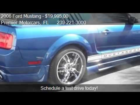 2006 Ford Mustang  - for sale in Bonita Springs, FL 34135