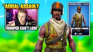 Symfuhny Dies & SPECTATES This Rare AERIAL ASSAULT TROOPER Skin | Fortnite Daily Funny Moments