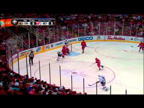 Hockey IQ - Drew Miller and Jonathan Ericsson NO QUIT 3:15 Minute Shift May 20 2013