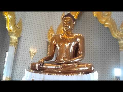 Golden Buddha at Wat Traimit, Bangkok 2013