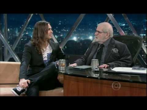 Entrevista de Kiko Loureiro no Programa do Jô - Globo HD