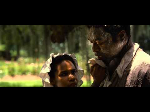 12 Years a Slave -  tiptoeing with a rope on a neck