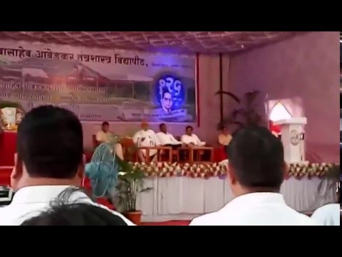 speech against modi rss bjp hindu brahmans indian soldiers by kolse patil at BATU lonere part II